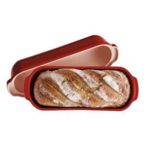 Forma na pečení chleba Specialities 39 x 16, cm červená Burgundy - Emile Henry