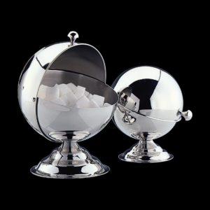 Cukřenka koule malá nerezová 10 cm - Cilio