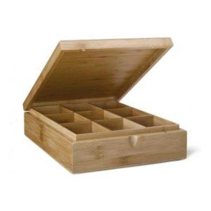 Krabička na čaj 9 přihrádek - Bredemeijer