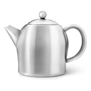 Čajová konvice 1l, nerezová matná, Santhee - Bredemeijer