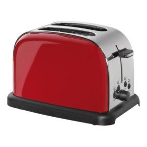 Toaster Retro na 2 plátky chleba červený - Cilio