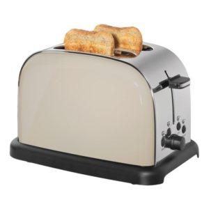 Toaster Retro na 2 plátky chleba mandlová - Cilio