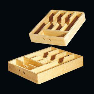 Zásobník na příbory dřevěný 30x35 cm - Cilio