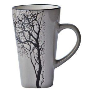 Kameninový hrnek TREE 500 ml šedý - Galzone