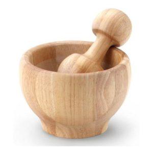 Dřevěný hmoždíř 13 cm - Continenta