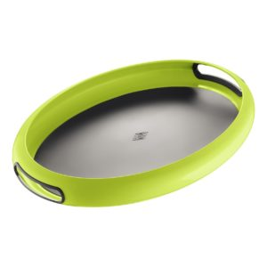 Tác Spacy ovál 5,3 x 50 x 35 cm, světle zelený - Wesco