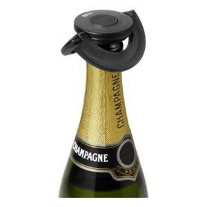 Zátka na šampaňské, černá, GUSTO - AdHoc