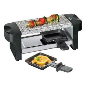 Elektrický Raclette gril černý HOT STONE DUO - Küchenprofi