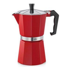 Espressovač na 6 šálků červený CLASSICO - Cilio