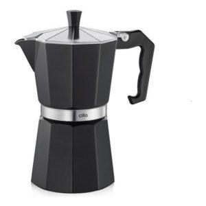 Espressovač na 6 šálků černý CLASSICO - Cilio