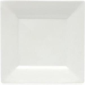 Čtvercový jídelní talíř 26 cm Mondo Square, WHITE BASIC - Maxwell&Williams