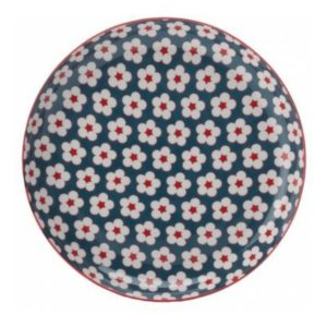 Mělký talíř 23 cm modrý, COTTON BUD - Maxwell&Williams