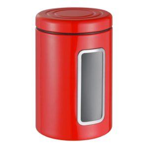 Dóza s průhledem 2 l, červená, Classic Line - Wesco