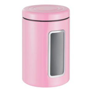 Dóza s průhledem 2 l, růžová, Classic Line - Wesco