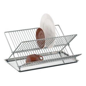 Odkapávač na nádobí s tácem nerezový - Küchenprofi