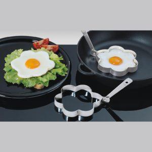 Sada dvou forem na vajíčka KVĚTINA nerezová - Küchenprofi