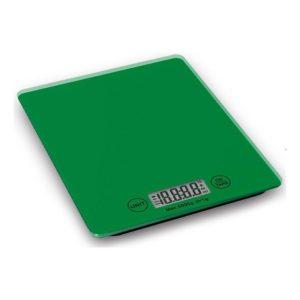 Digitální kuchyňská váha, zelená - Weis