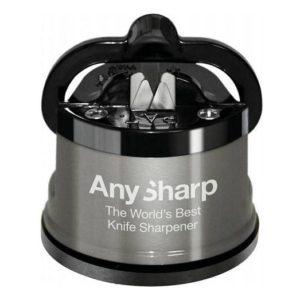 Brousek na nože, šedý, PRO - AnySharp