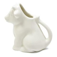 Mlékovka kráva 100 ml, WHITE BASICS - Maxwell&Williams