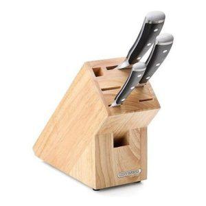 Blok na nože, na 7ks, gumovník - Continenta