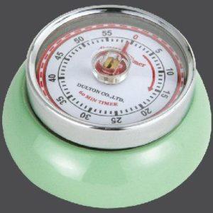 Kuchyňská magnetická minutka Speed Retro světle zelená - Zassenhaus