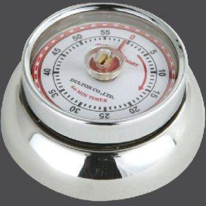 Kuchyňská magnetická minutka Speed Retro nerezová - Zassenhaus