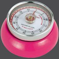 Kuchyňská magnetická minutka Speed Retro fialová - Zassenhaus