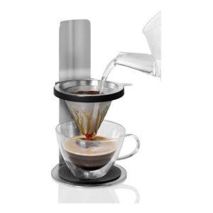 Kávovar na překapávanou kávu s permanentním filtrem - AdHoc