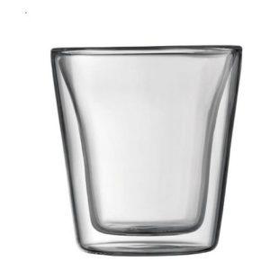 Set dvoustěnná sklenice 2 ks 0,2 l, CANTEEN - BODUM