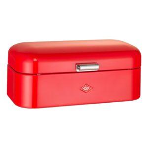 Chlebník Grandy 42 x 23 x 17 cm, červený - Wesco