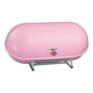 Chlebník Breadboy 44,3 x 21 x 23 cm, růžový - Wesco