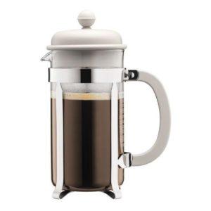 French press 1 l, bílý, CAFFETTIERA - BODUM