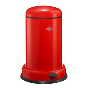 Odpadkový koš 15 l, červený, BASEBOY - WESCO