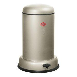 Odpadkový koš 15 l, stříbrný, BASEBOY - WESCO