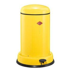 Odpadkový koš 15 l, žlutý, BASEBOY - WESCO