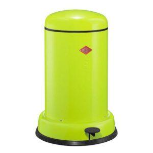 Odpadkový koš 15 l, světle zelený, BASEBOY - WESCO