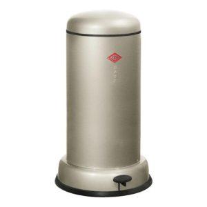 Odpadkový koš 20 l, stříbrný, BASEBOY - WESCO