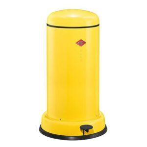 Odpadkový koš 20 l, žlutý, BASEBOY - WESCO