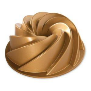 Bábovka 25,7 cm HERITAGE, PREMIUM GOLD - NORDIC WARE