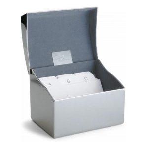 Box na vizitky s rejstříkem 9,5 x 7 cm CLIP - PHILIPPI