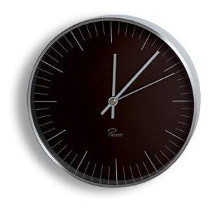 Nástěnné hodiny 20 cm černá TEMPUS - PHILIPPI