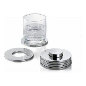 Tácky pod skleničky 7 ks RINGS - PHILIPPI