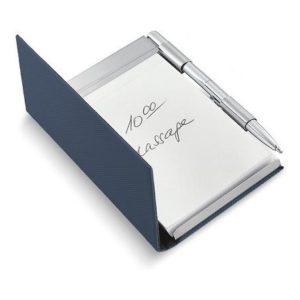 Zápisník s perem modrý TODD - PHILIPPI