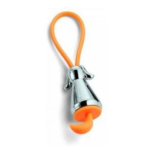 Přívěsek na klíče pes stříbrná FLIC - PHILIPPI