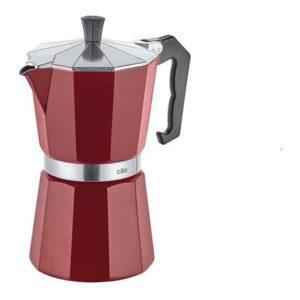 Espressovač na 6 šálků bordo CLASSICO - Cilio