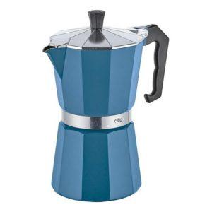 Espressovač na 6 šálků modrý CLASSICO - Cilio