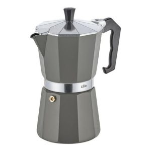 Espressovač na 6 šálků šedý CLASSICO - Cilio
