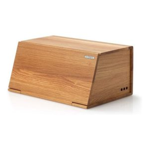 Dřevěný chlebník 40 x 26 cm dub - Continenta