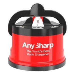 Brousek na nože červený Editions - AnySharp
