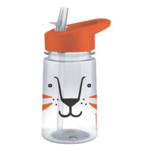 Dětská láhev s brčkem Tygr 430ml Zoo Flip & Sip - Aladdin